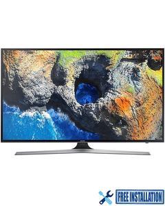 "Samsung NU7100- Smart 4K UHD LED TV - 43 - Black"""