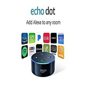 Amazon Echo Dot Wireless Speaker - 2nd Generation - Black