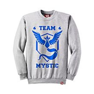 Why GenTeam Mystic - Light Grey Colour - fleece Sweatshirt