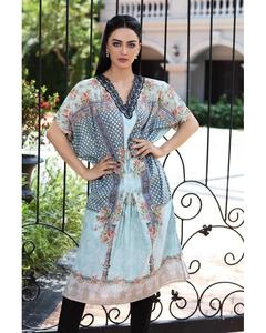 So Kamal Winter Collection  Ferozi Cotton Embroidered 1PC -Unstitched Shirt DFP18 538 EF01142-STD-FRZ