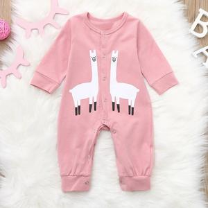 a4ce420fcc1 Stonershop Infant Baby Boys Girls Long Sleeve Cartoon Animal Print Romper  Jumpsuit Clothes