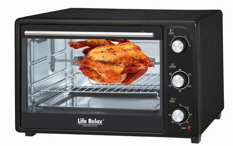 LR - 4030 Electric Toaster & Baking Oven - 1280 Watts - Black (Brand Warranty)