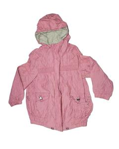 Stylish Pink Printed Zipper Hoodie Jacket for Boy