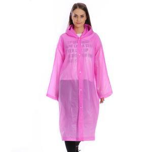 Womens Adults Waterproof Long Coat/Rain Coat Jacket Windproof