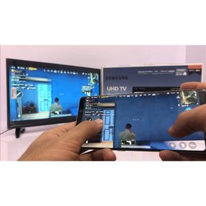 """(PUBG Connectable Smart Tv Directly from phone) Samsung - UHD 4k Led Flat Smart Tv - 32"""" Inch - Black - Model: NU Series N5500 - with 2 years circuit warranty - with Free Wall-Mount & Free 16Gb Samsung USB (Included 4k Videos For Test)"""