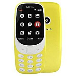 "Nokia3310 - 2.4"" - Dual Sim Phone - 2 MP - Yellow"