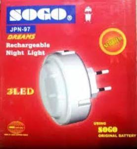 Sogo Rechargeable Night Light JPN-97