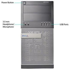 Dell OptiPlex 790 Desktop Tower  i3-2100 3.10GHz 2GB DDR3 RAM 320GB HD DVD-RW Windows 10 64-bit