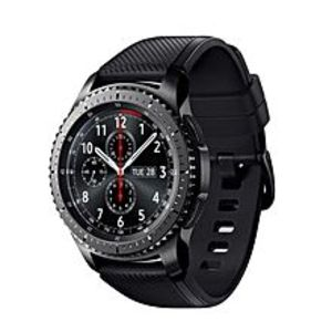 Samsung Original Gear S3 - Frontier 4GB Rom Box packed - Black/Space Grey