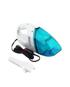 ACCESSORIES HUB Portable Car Vacuum Cleaner - White & Blue