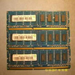 Pack Of 3 Ddr3 For Pc - 2Gb Ram