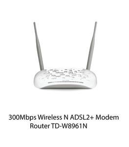 300Mbps Wireless N ADSL2+ Modem Router TD-W8961N