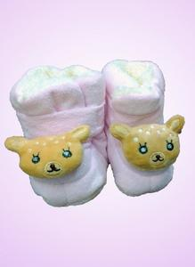 Baby Winter Collection Booties Soft Smoth Stuffed