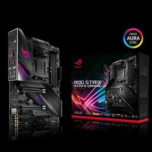 ROG Strix X570 E Gaming - AMD X570 ATX gaming motherboard with PCIe 4.0.