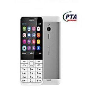 Nokia230 - Dual Sim - 2.8 - White Silver