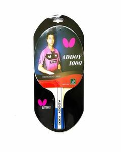 Addoy 1000 - Table Tennis Racket With 2 Balls