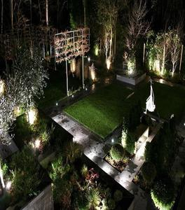 Solar Led Light Garden Path Lamp Flood Spotlight Lawn
