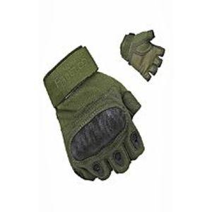 Hedge OverTactical Half Finger Gloves For Men ? Green