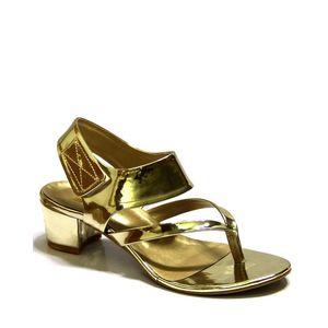 English Boot House Golden Sandal for Women 0020-2138 Gold E-Budget