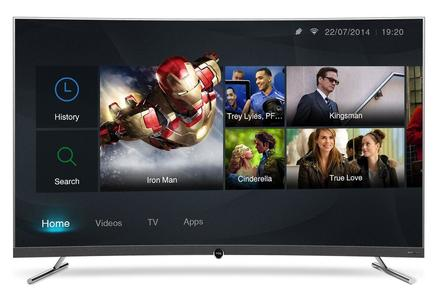 TCL 55P5 Curved Smart Led Tv