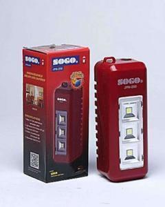 Sogo JPN-74 Rechargeable LED Light - Red
