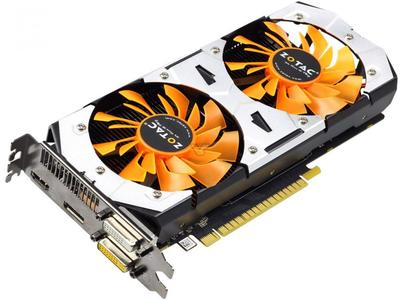 ZOTAC Video Card GTX 750Ti-2GD5 GDDR5 Graphics Cards For nVIDIA GeForce GTX750 Ti 2GB GTX 750 TI 2G