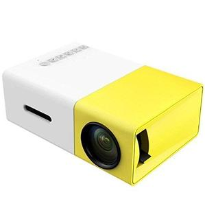 Mini Projector, DeepLee DP300 Portable LED Projector support PC Laptop USB Stick