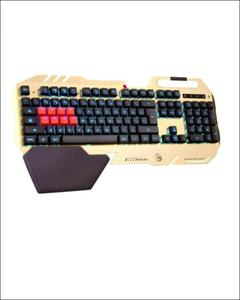 B418 - Back-lit Mechanical Keyboard - Black