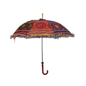 Antique Cotton UmbrellaHand Made-Multi Color