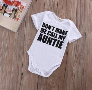 Cotton Newborn Infant Baby Boy Girls Bodysuit Romper Jumpsuit Clothes Outfits 0-18M