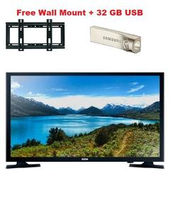 Icon 24 Inch HD LED TV With free Wall Mount and 32 GB USB