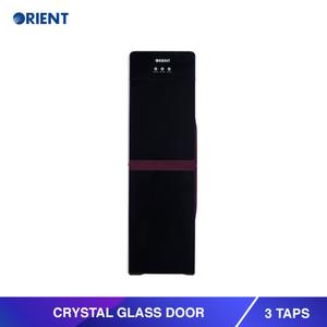 Orient Crystal Glass Door Water Dispenser - 3 Taps
