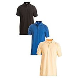 ZewraatPack of 3 - Multicolour Cotton Polo Shirts for Men