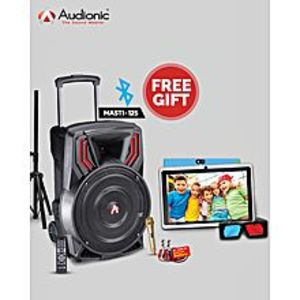 Audionic Classic Masti-125 Trolley Wireless Speaker & ( Free Dany Champ-10 Tablet )
