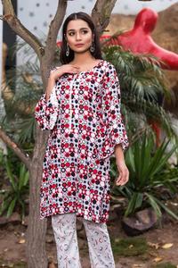 SITARA STUDIO Sapna Collection 2019 Multicolor Lawn 2PC Unstitched Suit For Women - 6144 B  (Un-stitched)