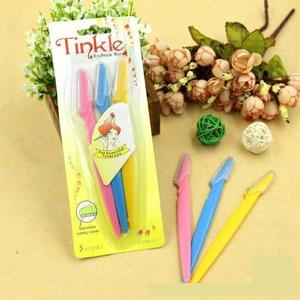 PACK OF 2 Twinkle Eyebrow Razors - 3Pcs- PACK OF 2
