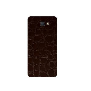 Samsung Galaxy On5 2016 3M Brown Crocodile Leather Texture Mobile Skin - Back & Sides