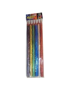 Hotline Birthday Sparkling Candles Large Pack Of 6