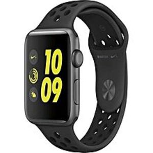 Apple Nike+ 42mm Aluminum Case Sport Band Watch - Space Grey