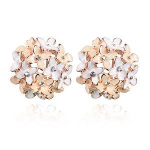 Flower Gold Stud Earring for women – AE53