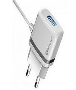Model Wc-105 (2.4A) Wall Charger Plus Micro Usb Cable - White