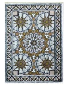 Silky Traditional Rug - Synthetic - 4X6 - Yellow