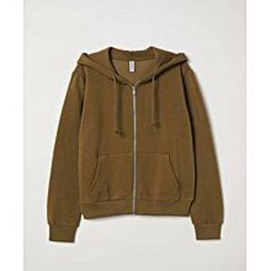 A&GHooded Jacket-Brown