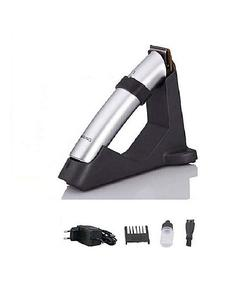Rechargeable Cordless Hair Trimmer - Silver