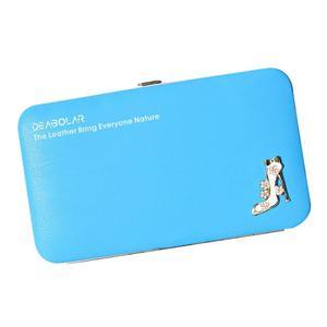 Women Girl High Heels Phone Package Wallet Clutch Purse Handbag