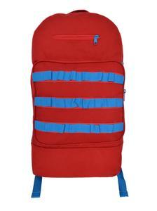 Multiple Use School Bag Backpack - Bold Red