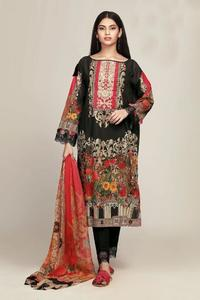 Khaadi Replica Embroidered Summer / Spring Lawn Dress for Women