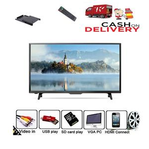 Universal 22 Inch J17 - UHD LCD TV with Built-in Sound bar 22'' - Black