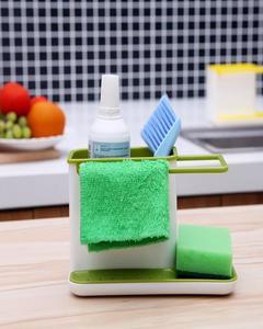 Kitchen Sink Rack With Towel Holder