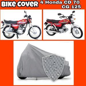 Double Coated VIP Bike Covers For Honda Cd 70 Honda CG 125 note 4 8 Yamaha ybr 125 honor 9 lite redmi 4x